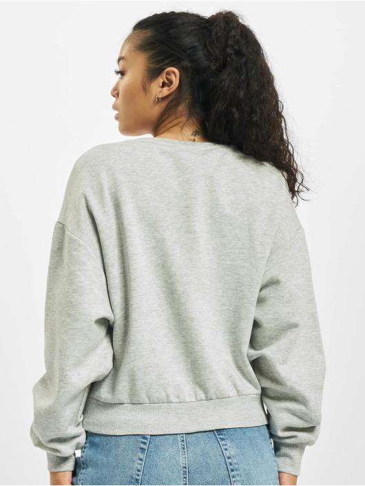 Only Pullover onlZita Life Short Lips Box grey