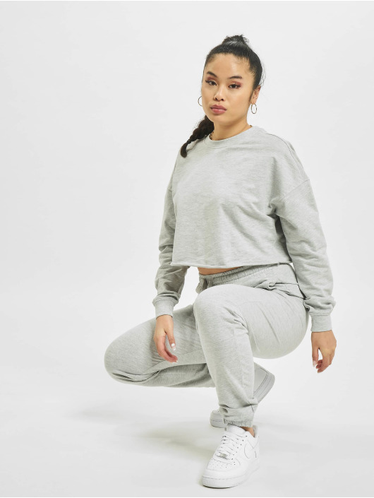 Only Pullover onlZoey Life Cropped grey