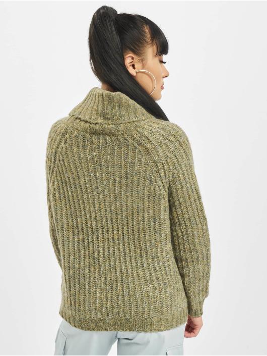 Only Pullover onlNew Chunky Rollneck grün