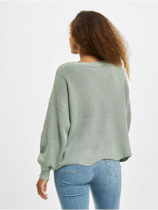 Only Pullover onlHilde Life Knit Noos grün