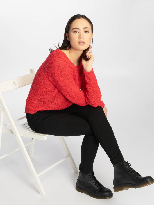 Only Pullover onlGeena red