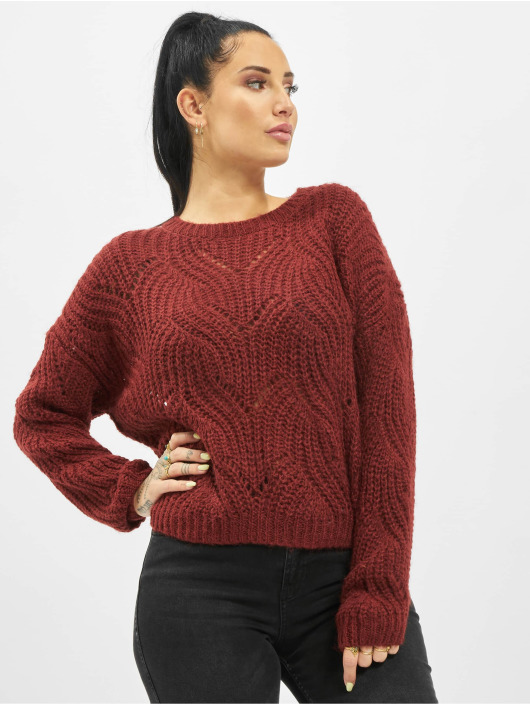 Only Pullover onlHavana Knit NOOS red