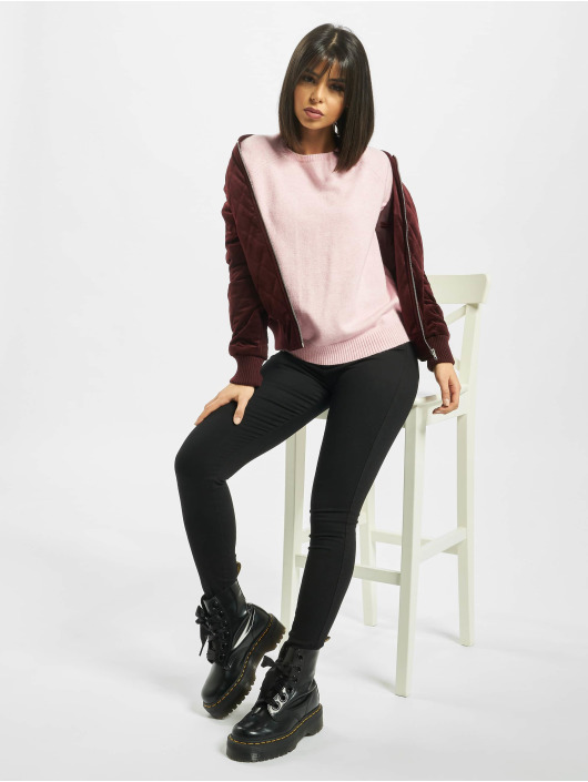 Only Pullover onlLesly Kings Knit Noos rosa