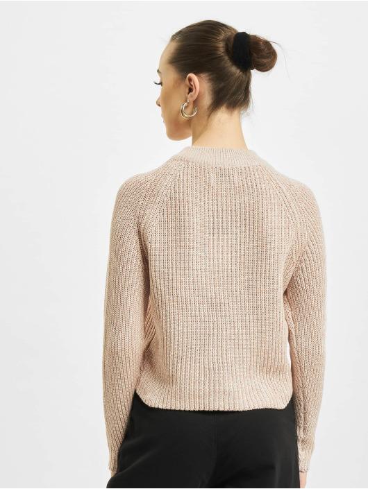 Only Pullover onlJuna Life Zip Knit rosa