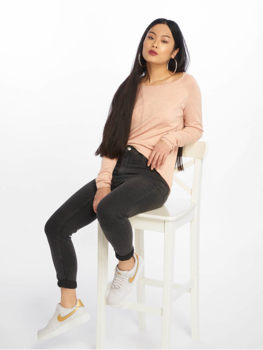 Only Pullover onlMila Lacy Long rose