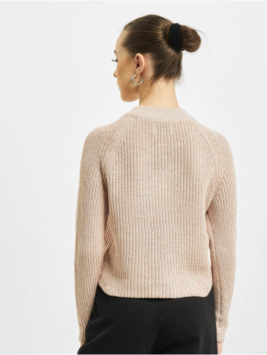 Only Pullover onlJuna Life Zip Knit rose