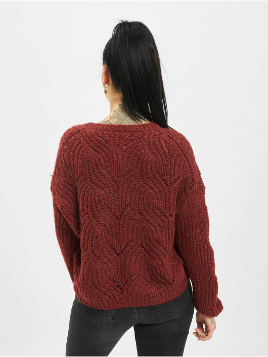 Only Pullover onlHavana Knit NOOS rot