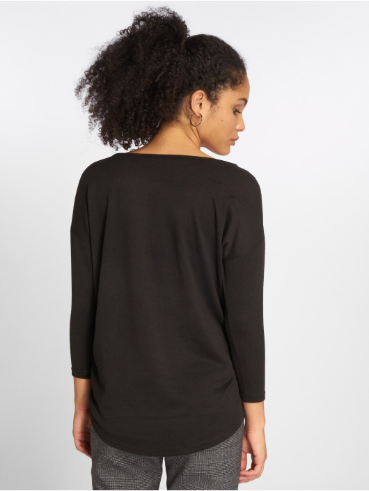 Only Pullover onlElcose 4/5 Solid schwarz