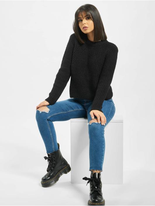 Only Pullover onlFiona Knit schwarz