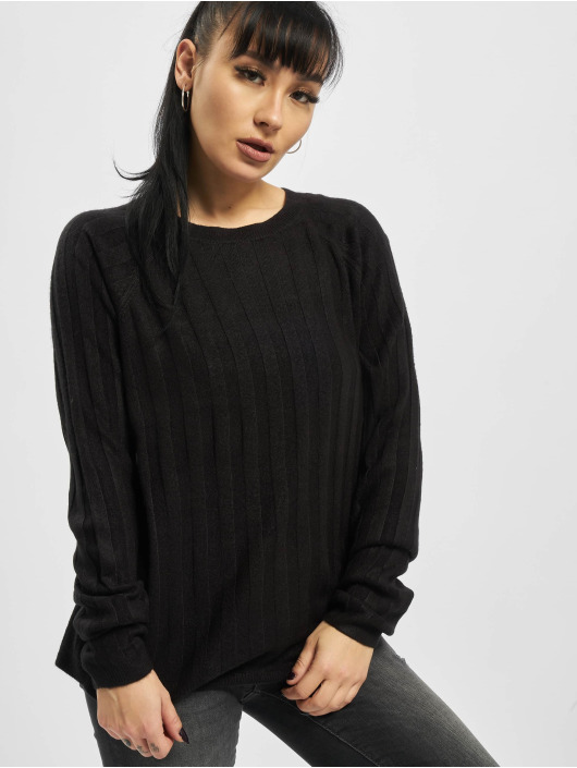 Only Pullover onlPeps Rib Tall Knit schwarz