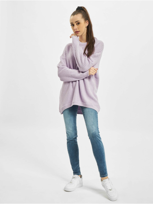 Only Pullover onlKarly Life Knt violet