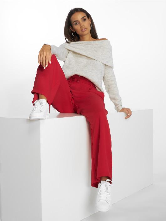 Only Pullover onlBergen Off Should Knit weiß