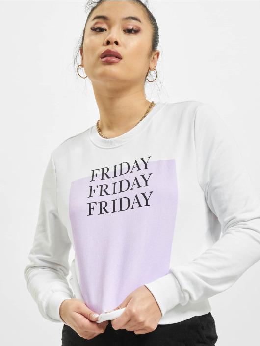 Only Pullover onlWeekday Life Reg weiß