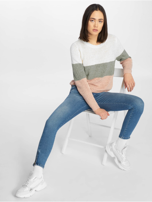 Only Pullover onlGeena white