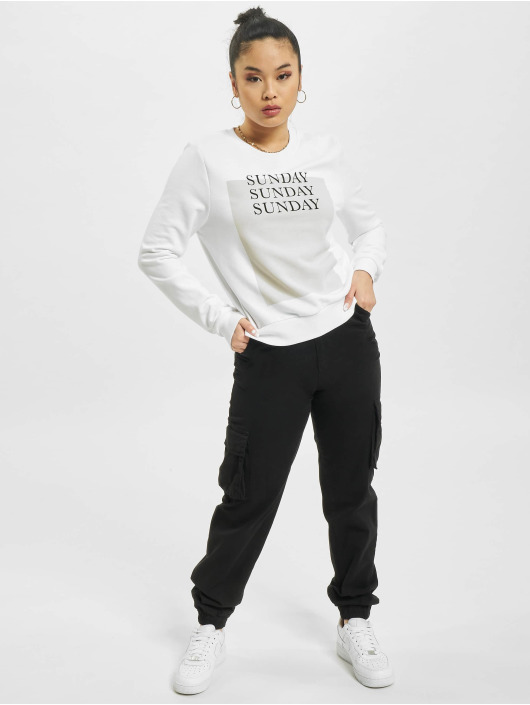 Only Pullover onlWeekday Life Reg white