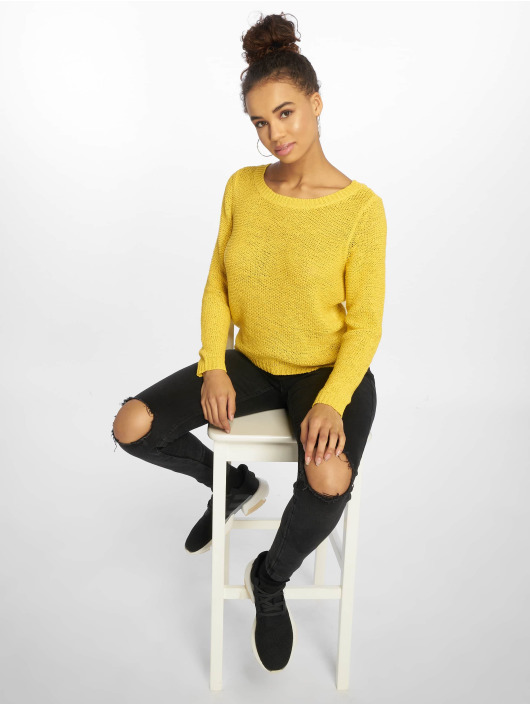 Only Pullover onlGeena Xo Noos Knit yellow