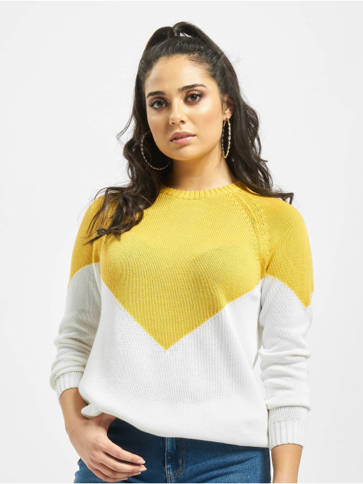 Only Pullover onlSara yellow