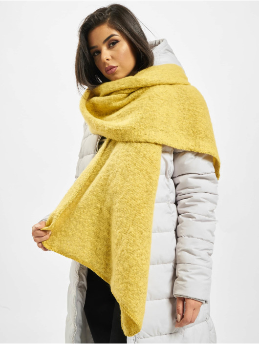Only Scarve / Shawl onlLima NOS Knit Long yellow