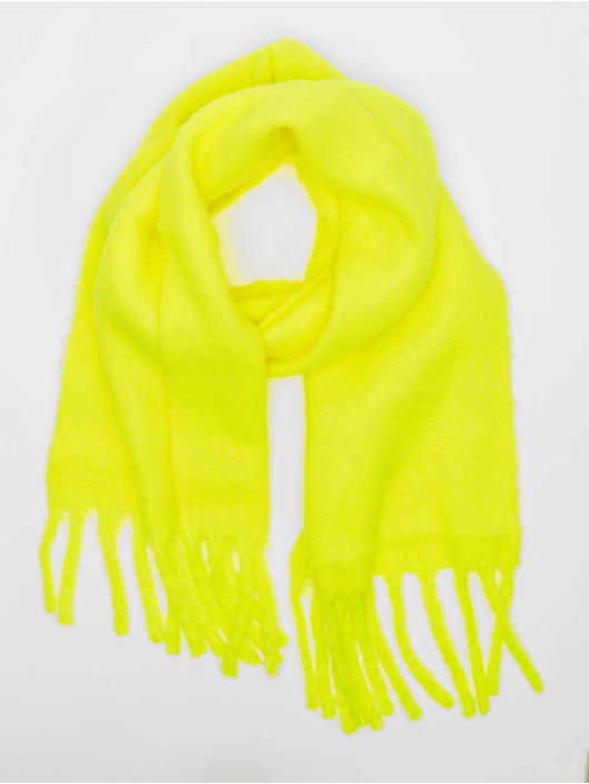 Only Scarve onlEmma Solid Heavy Brushed Woven yellow