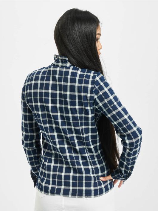 Only Shirt onlJaden Frill Check blue