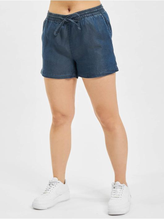 Only Short onlPema Lyocell blue