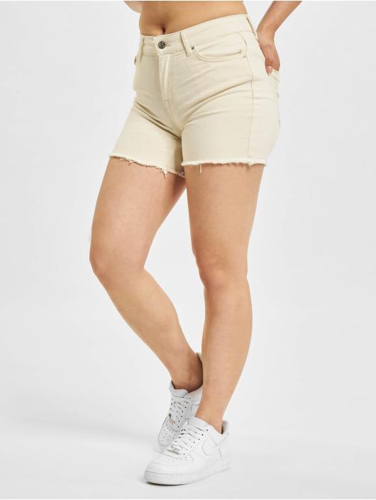 Only Shorts Blush Mid Shorts Raw Dot beige