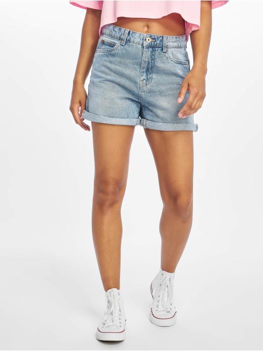 Only Shorts onlLola Mom Midi Denim blå