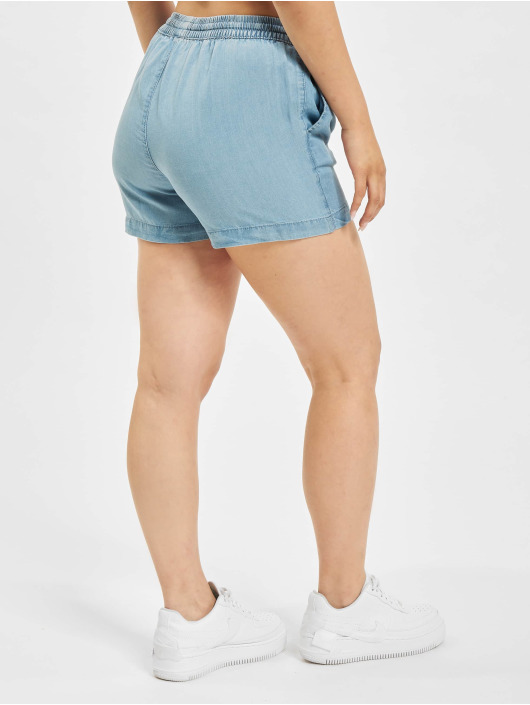 Only Shorts onlPema Lyocell blau