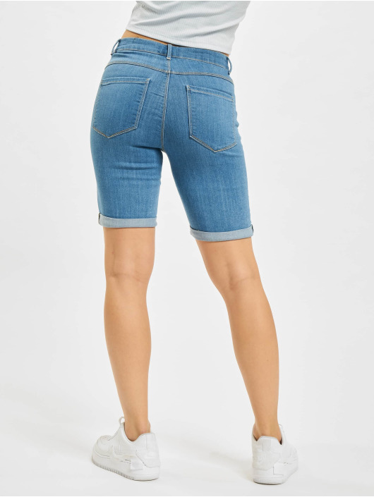 Only Shorts onlRain Life Mid Long blau