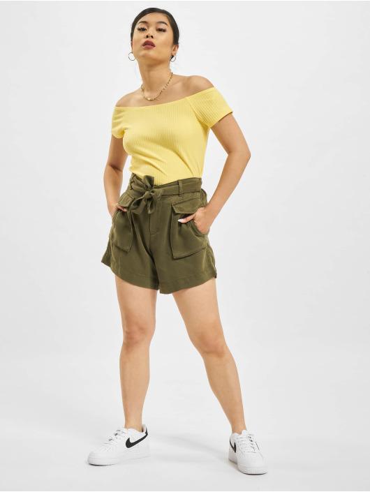 Only Shorts Kenya Life Utility Belted oliven