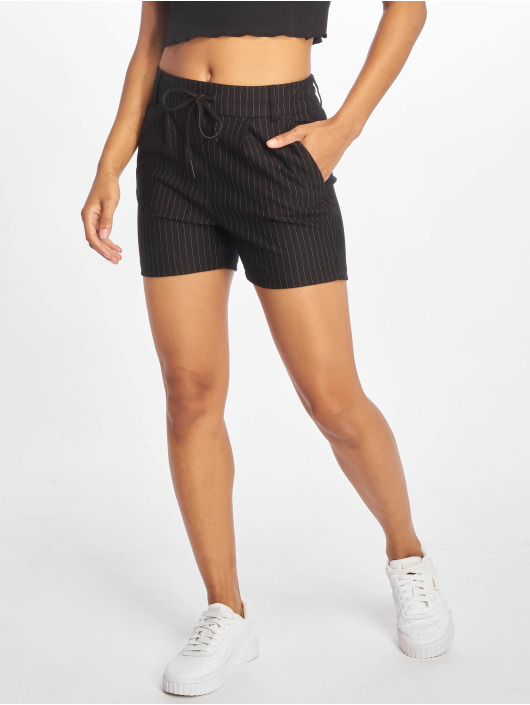 Only Shorts onlPoptrash Classic Pinstripe schwarz
