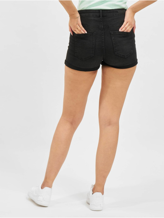 Only Shorts Hush Button svart