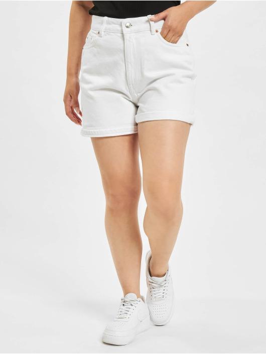 Only Shorts onlBay Life High Waist Mom weiß