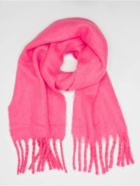 Only sjaal onlEmma Solid Heavy Brushed Woven pink