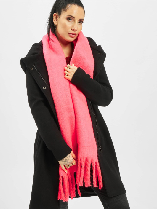 Only Sjal/Duk onlEmma Solid Heavy Brushed Woven rosa