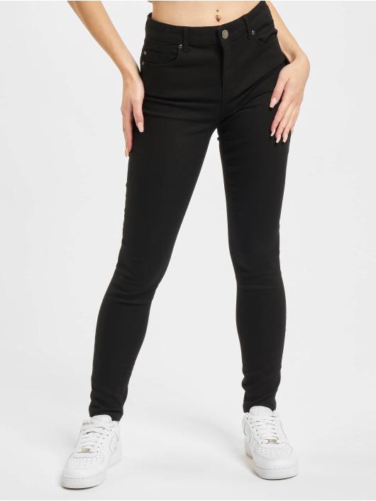 Only Skinny Jeans Midankle Pushup čern