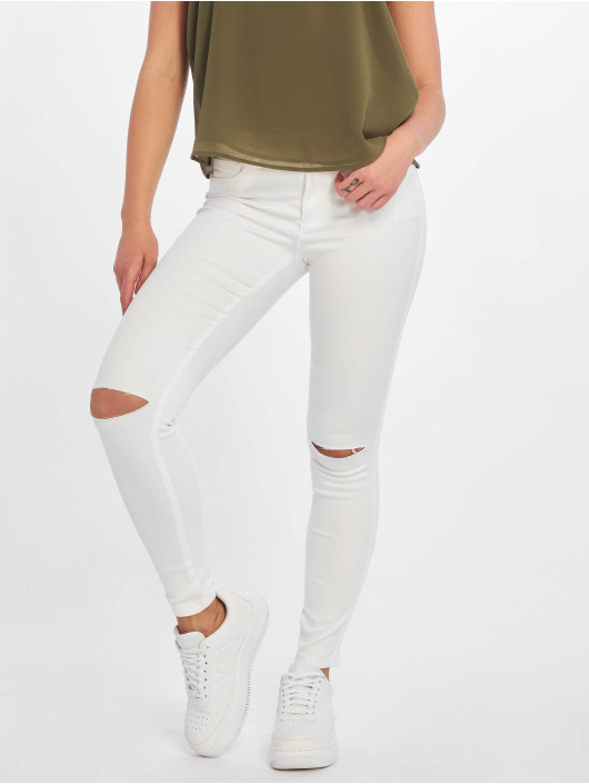 Only Skinny Jeans onlRoyal Regular Ankle Neecut bialy