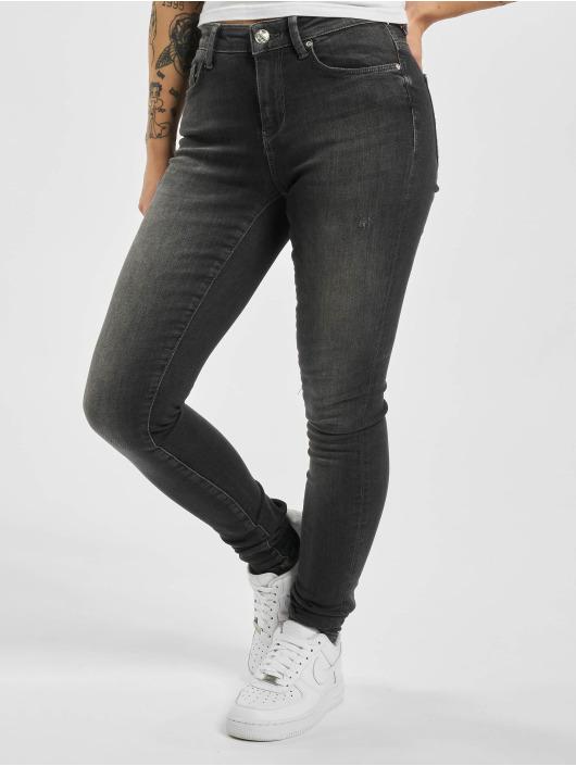Only Skinny Jeans onlCarmen Life Reg black