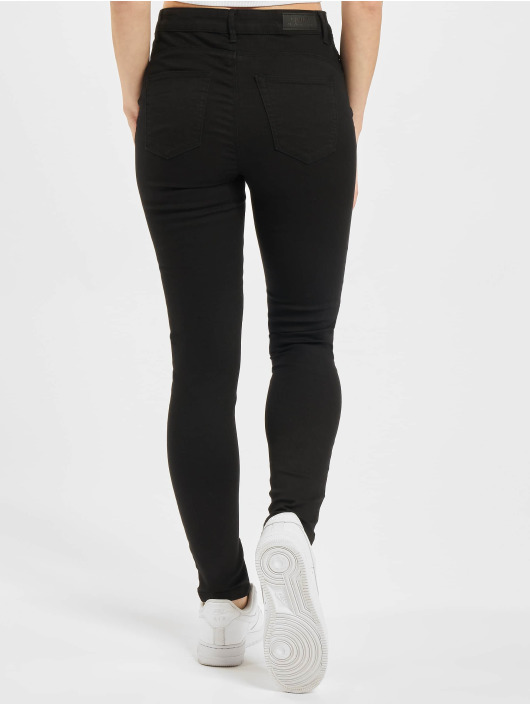 Only Skinny Jeans Midankle Pushup black