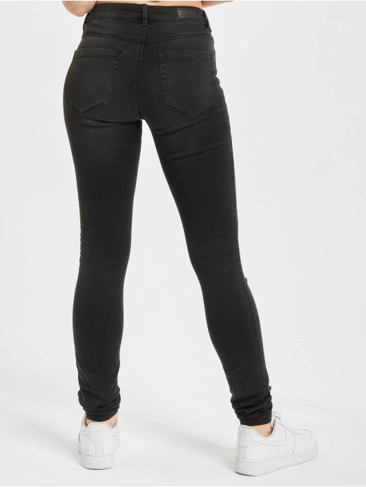 Only Skinny Jeans Onlroyal Life black