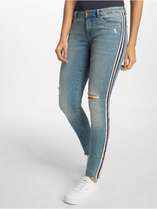 Only Skinny Jeans onlCarmen Regular Ankle Tape blau