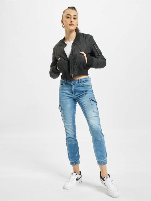 Only Skinny Jeans onlMissouri Life Reg Ankle Car Az9 blau