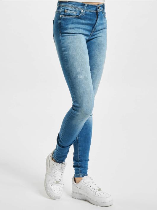 Only Skinny Jeans onlShape Life Reg BB REA 404 blau