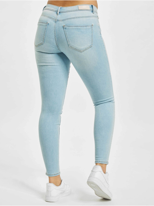 Only Skinny Jeans onlWauw Life Mid BB BJ693 blau