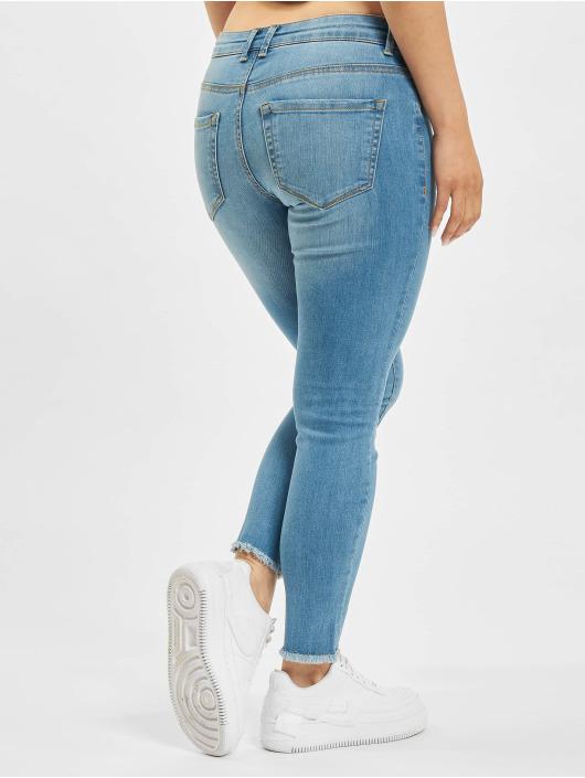 Only Skinny Jeans onlEmmi Life Regular Skinny Ankle Rawdst BB SOO819 blau