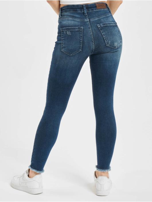 Only Skinny Jeans onlBlush Life RAW REA811 blau