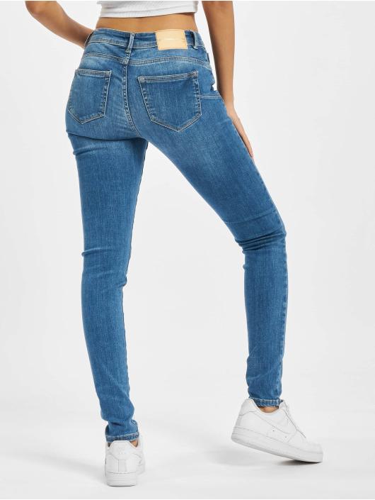 Only Skinny Jeans Onlpush Shape blau
