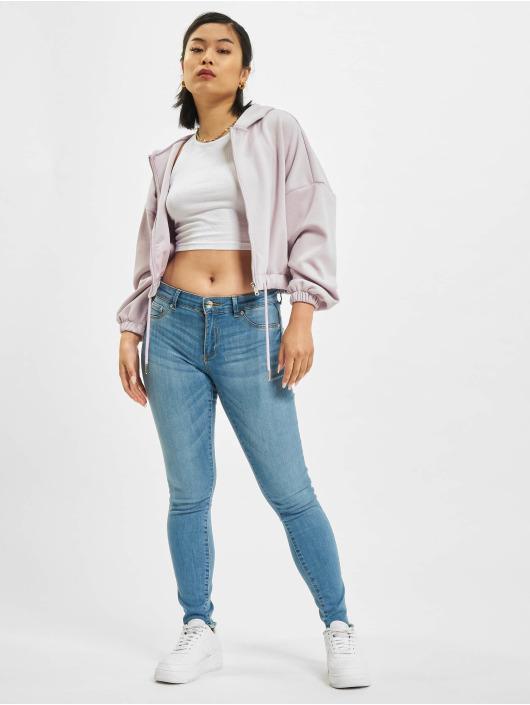 Only Skinny jeans onlEmmi Life Regular Skinny Ankle Rawdst BB SOO819 blauw