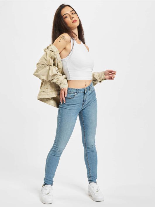 Only Skinny jeans Onliris Midankle Pushup blauw