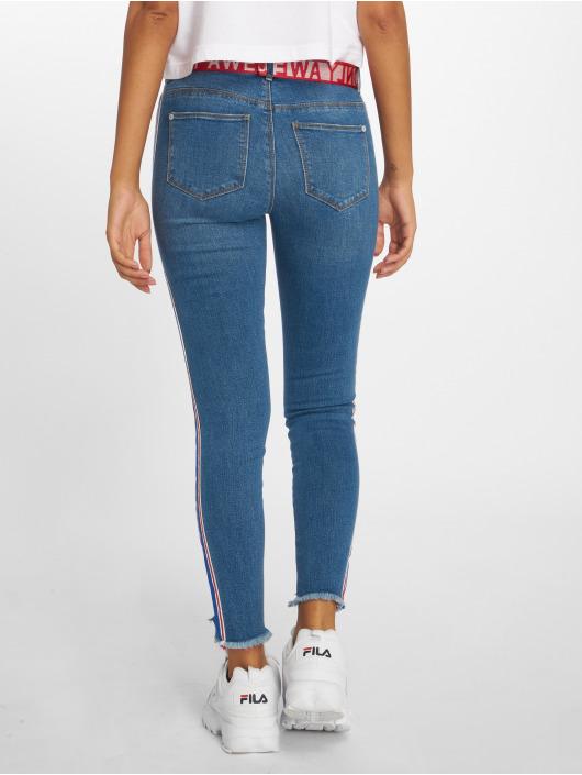 Only Skinny Jeans Onlcarmen Reg Sk Tape Ank Dnm Jnsbj12729 blue